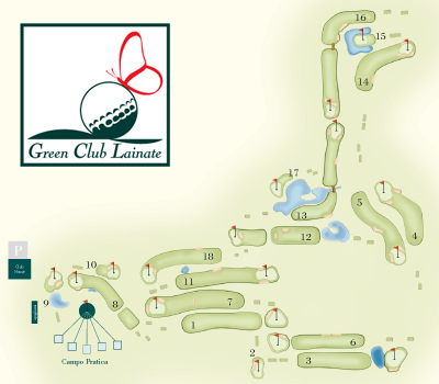 percorso golf